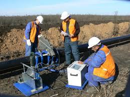 Боевые действия в момент ремонта газопровода в Донецке