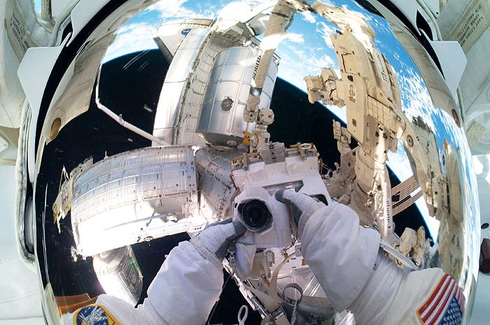 На МКС прибыл российско-американский экипаж