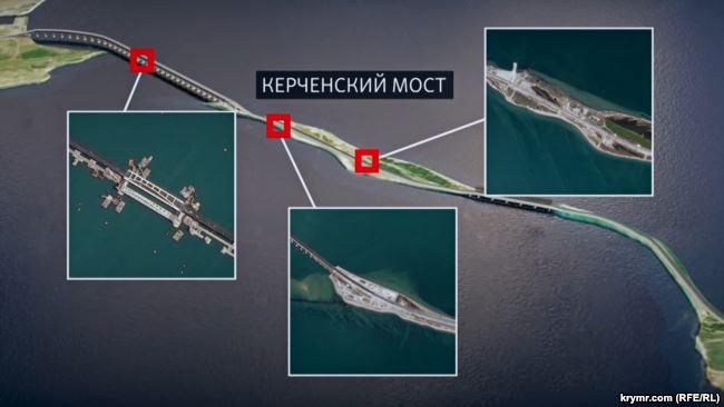 Опубликованы кадры трех опасных точек Керченского моста: катастрофу уже нельзя скрыть - громкие подробности
