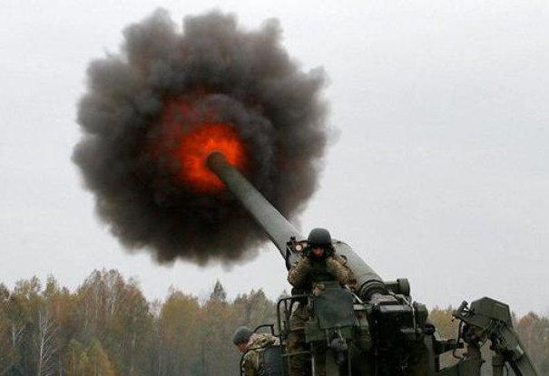 Оккупант пожалел, что открыл огонь по Станице Луганской: от огневой точки врага остались одни обломки