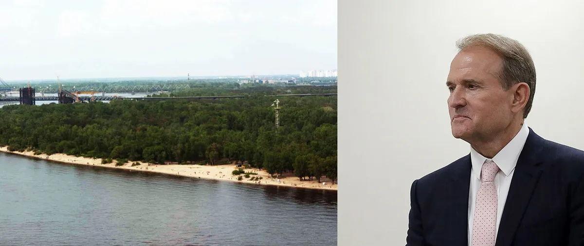Захват охранниками Медведчука земли на Трухановом острове: суд принял окончательное решение