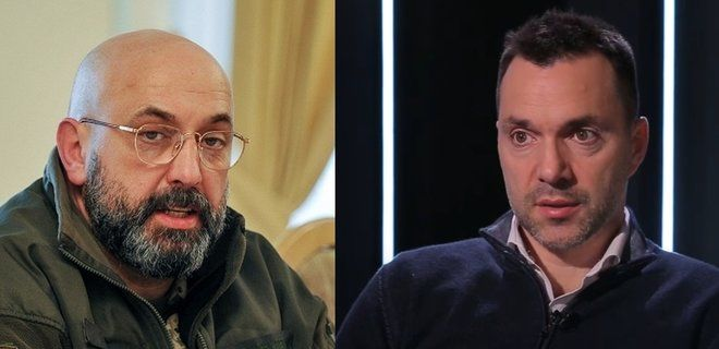 """Арестович ответил Кривоносу на обвинения о снайперах на минном поле: """"Слепил легенду"""""""