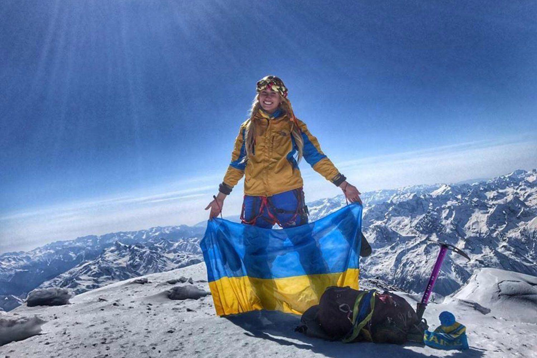 """Вначале Эверест, а теперь и """"гора-убийца"""": украинка Галай делает невозможное"""