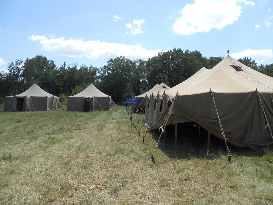 Красноармейск, переселенцы, гуманитарная помощь, пункт временного проживания