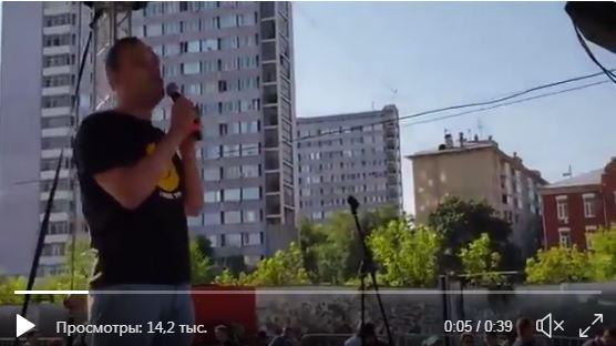 """В Москве на митинге признали вторжение РФ на Донбасс: """"Мы убили тысячи людей. От этого позора не отмоемся"""""""