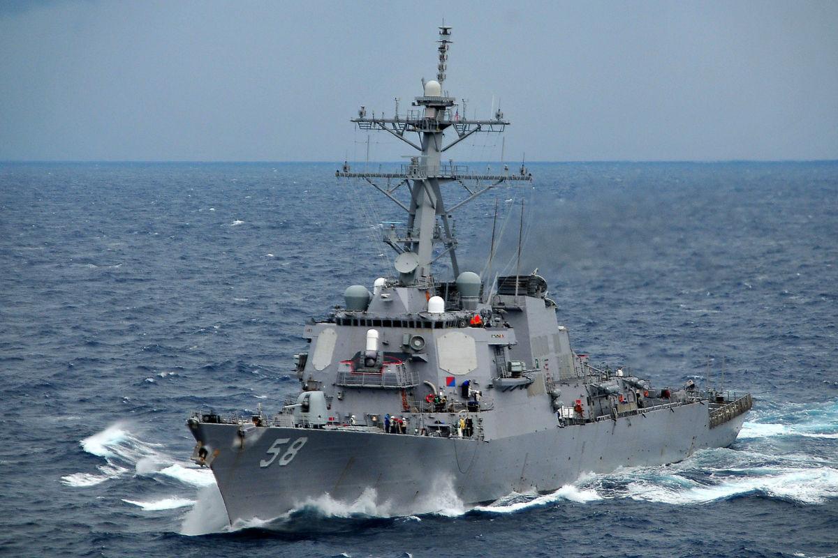 """Ракетный эсминец США USS Laboon с """"Томагавками"""" идет в Черное море перед встречей Байдена с Путиным"""