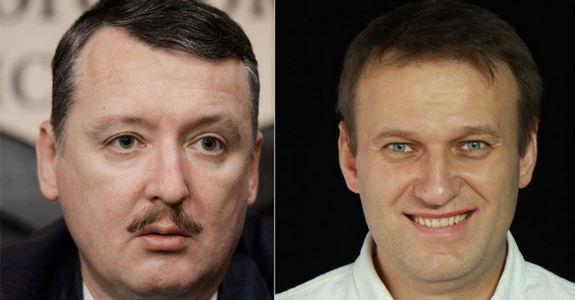 Кто кого: прямая видеотрансляция дебатов российского оппозиционера Алексея Навального с военным преступником Игорем Гиркиным-Стрелковым