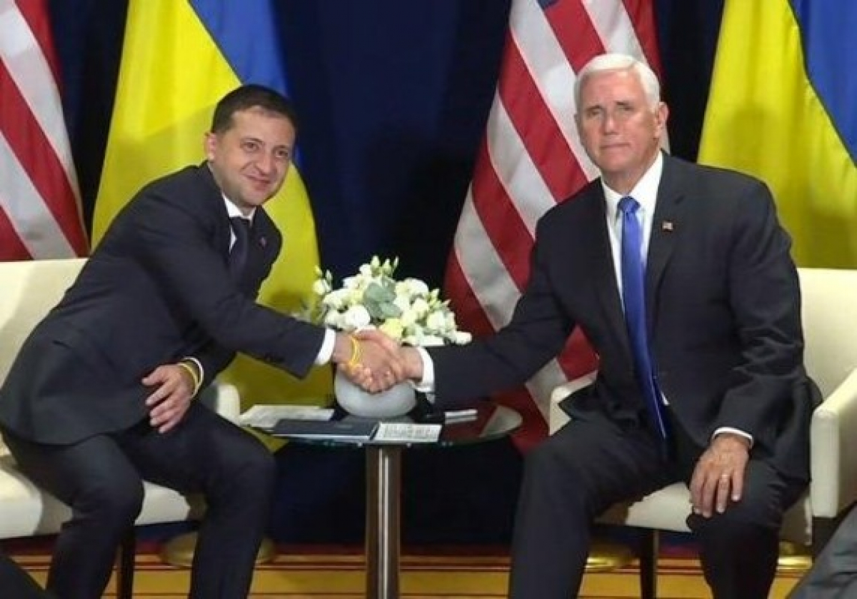 Зеленский,Трамп, Пенс, США, запрос, встреча, импичмент, политика, Украина,