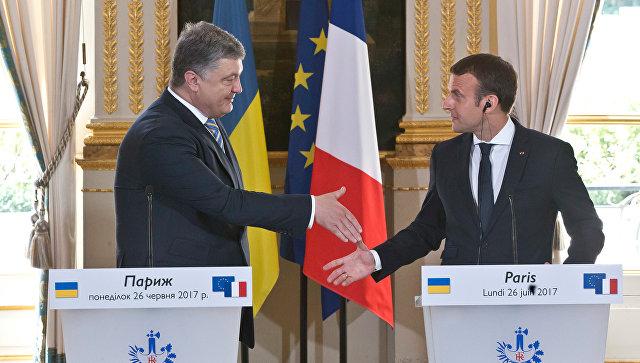"""Как президент Франции предложил освобождать Донбасс: стали известны некоторые детали """"Формулы Макрона"""""""