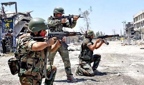 ИГИЛ наступает с востока: сирийская армия терпит газовые атаки в Дейр-эз-Зоре