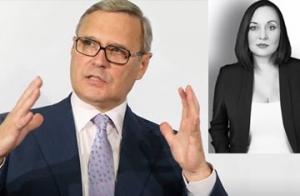 Российский канал НТВ обнародовал интимные сцены из жизни Касьянова и Пелевиной: женщина давит на оппозиционера подать на развод