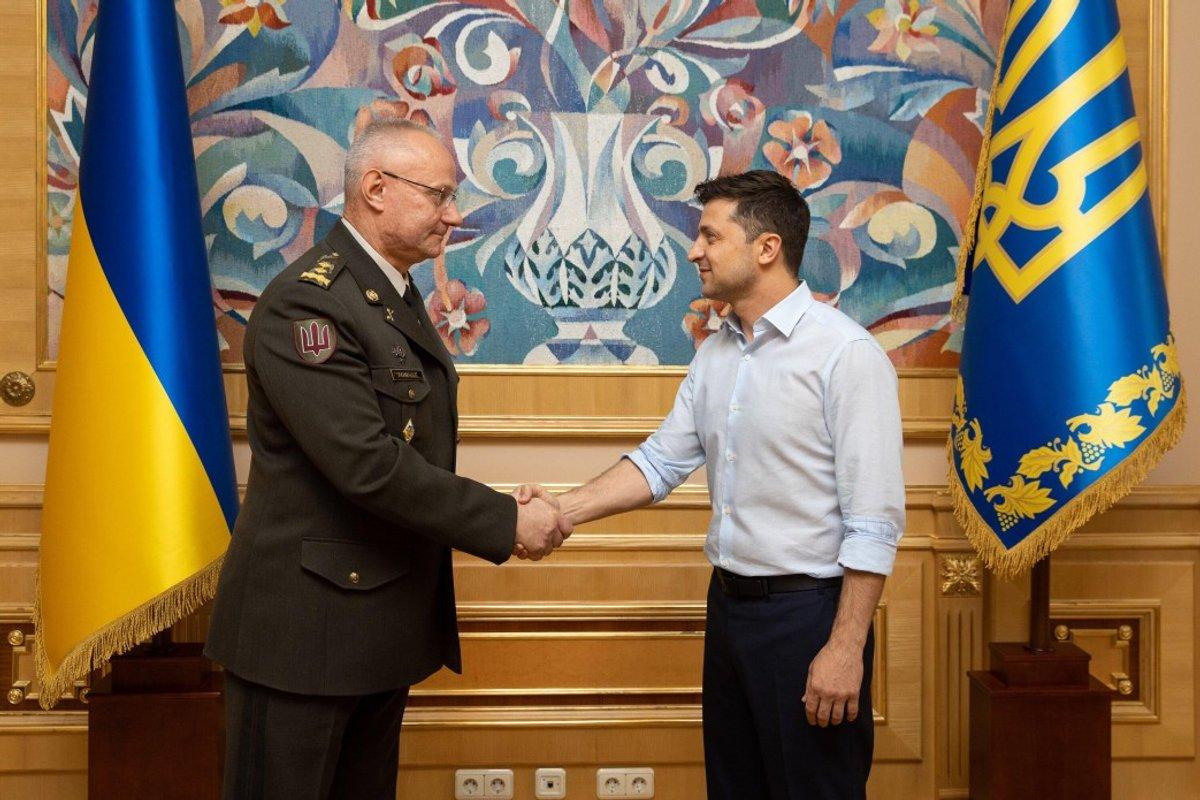 Украина, ВСУ, армия, Зеленский, Хомчак, изменения