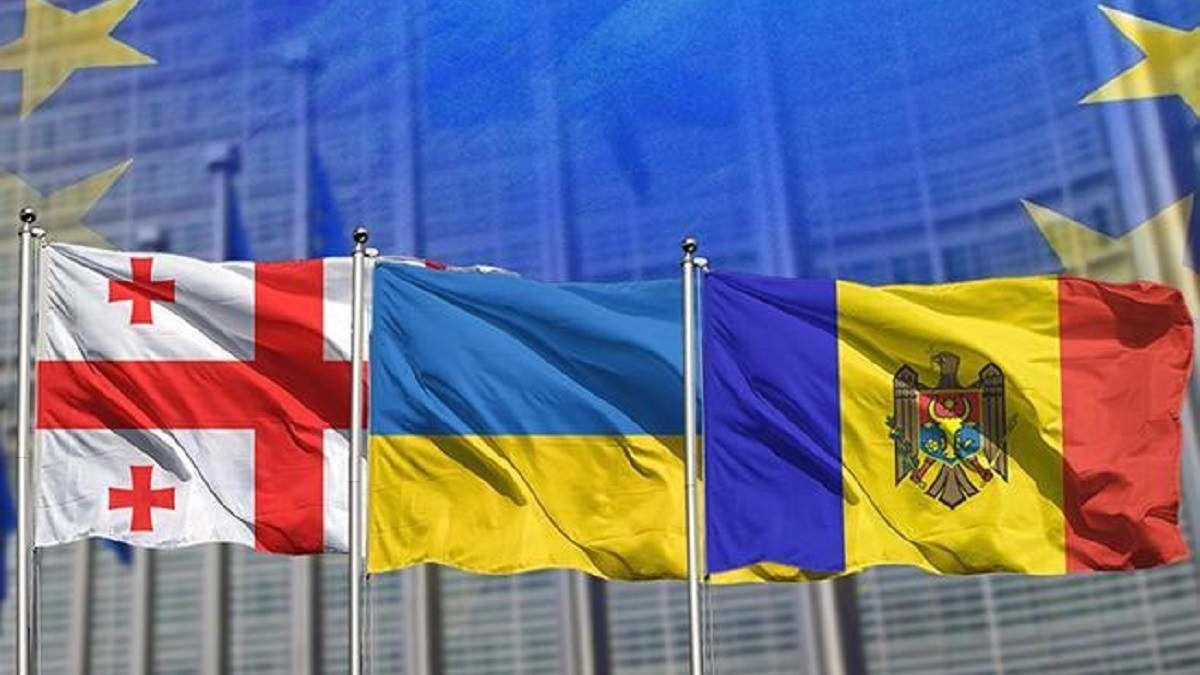 Евроинтеграция Украины, Молдовы и Грузии: страны стали ассоциированным трио на пути в ЕС