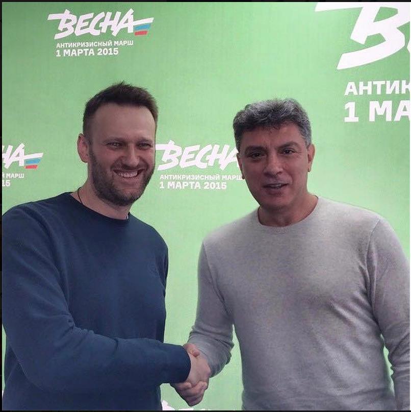 В последнем блоге Немцов написал, что Кремль понимает последствия марша 1 марта