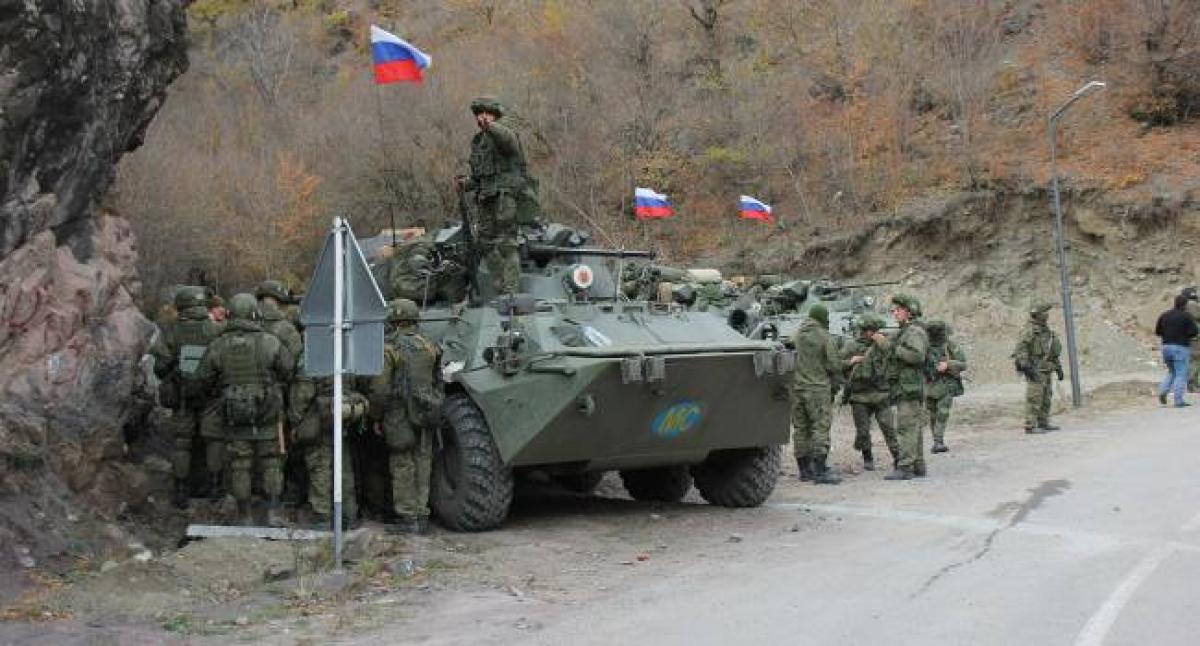 Армия Азербайджана вошла в Хцаберд: российские миротворцы срочно переброшены в зону боевых действий - СМИ
