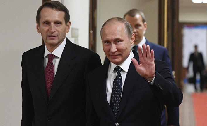 Россия, политика, агрессия, конфликт, война, Нарышкин, Путин, режим, США, армия