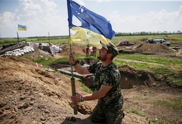 Бойцы ВСУ продвинулись вглубь оккупированной территории Луганщины, заняв опорные пункты в районе Калиново, Михайловки и Бахмутской трассы