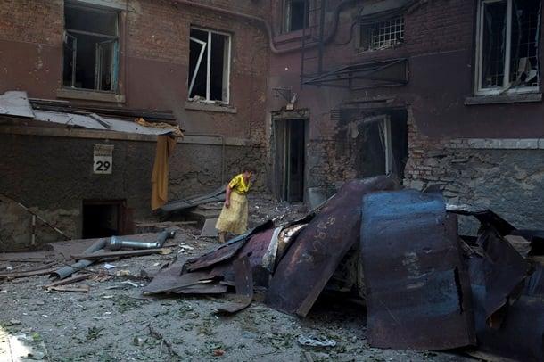 Бои в Луганске продолжились всю ночь