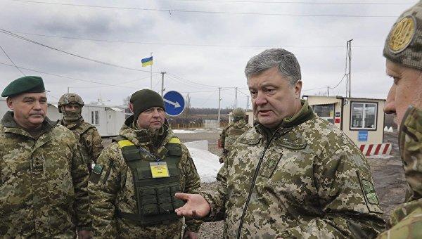 Петр Порошенко побывал в освобожденной Катериновке, куда не рискуют приезжать даже наблюдатели СММ ОБСЕ