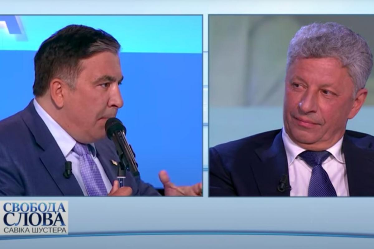 "Саакашвили публично заявил Бойко: ""Я не твой враг, я враг твоего хозяина"", видео"