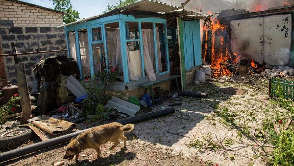 При обстрелах Донецка в субботу погибли еще пять мирных жителей