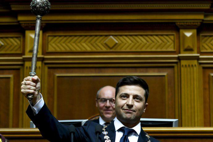 Киев, инаугурация, Зеленский, президент, Верховная Рада полное видео