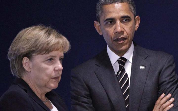 ангела меркель, барак обама, сша, германия, восток украины, донбасс, политика