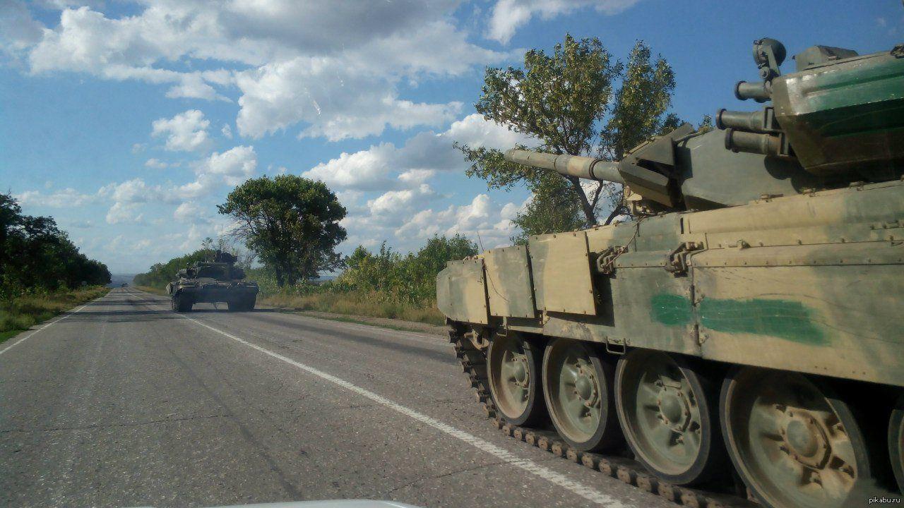 В российской воинской части взорвался танк, участвовавший в агрессии против Украины: опубликовано видео