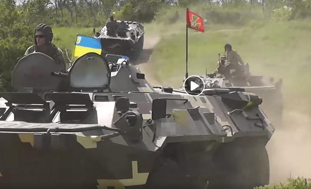 восток Украины, Донбасс, Россия, армия, ООС, учения, десант, приазовье, видео