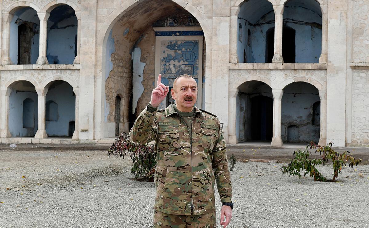 Обращение Алиева к нации: президент пояснил, чего добился Азербайджан в боях за Карабах
