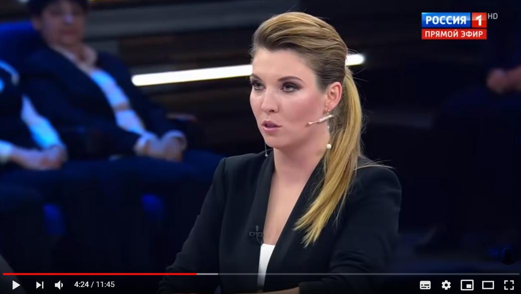 """Невзоров назвал Скабееву """"говорящей курятиной"""" в прямом эфире росСМИ: видео """"взорвало"""" соцсети"""