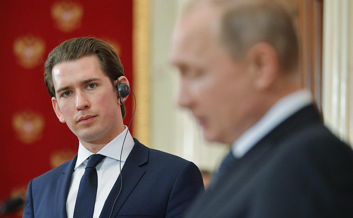 Путин зря отплясывал на свадьбе: канцлер Австрии Курц сделал заявление о политике государства в отношении России