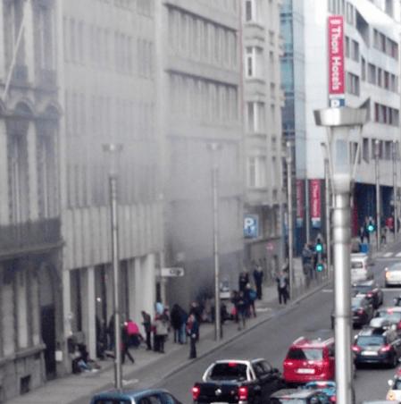 Взрывы в метро Брюсселя: счет жертв идет на десятки