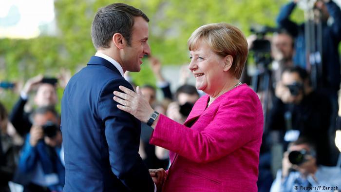 """""""Прекрасные новости! Надеемся на плодотворное сотрудничество!"""" – Меркель поздравила Макрона с победой его партии """"Республика на марше!"""" на парламентских выборах во Франции"""