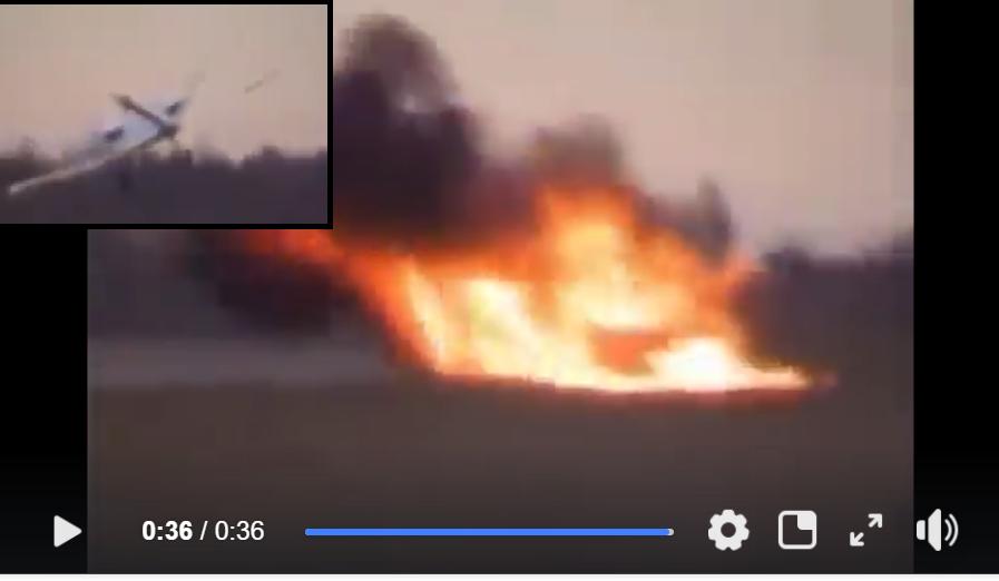 """Соцсети """"взорвало"""" видео крушения российского беспилотника: пользователи смеются над позором российских военных - кадры"""