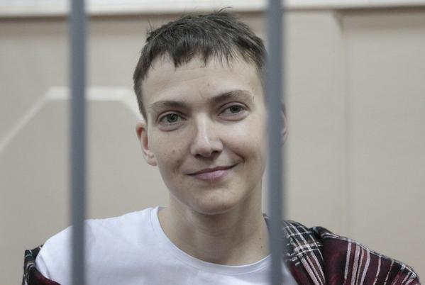 """Российский судья: """"Кому весело, могу выгнать"""". Савченко в ответ: """"Мне весело"""""""