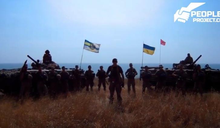 """Морская пехота готова к встрече: вы можете стать хорошим удобрением! - морпехи Украины """"пригласили"""" Гиви к бою"""