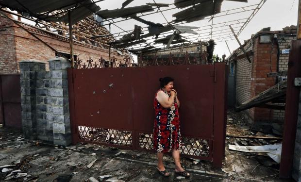 ДНР: Мирные жители получат компенсации за разрушенные дома украинскими силовиками