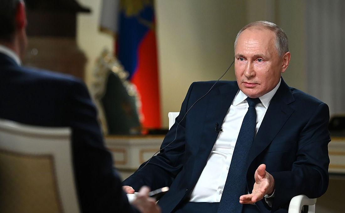 """Путин вышел из себя после вопроса NBC об Украине и перешел на немецкий: """"Вы затыкаете мне рот"""""""