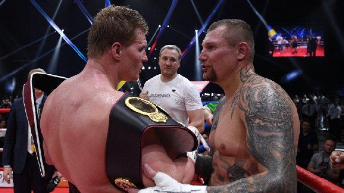 Команда Андрея Руденко настаивает на матче-реванше с  Александром Поветкиным