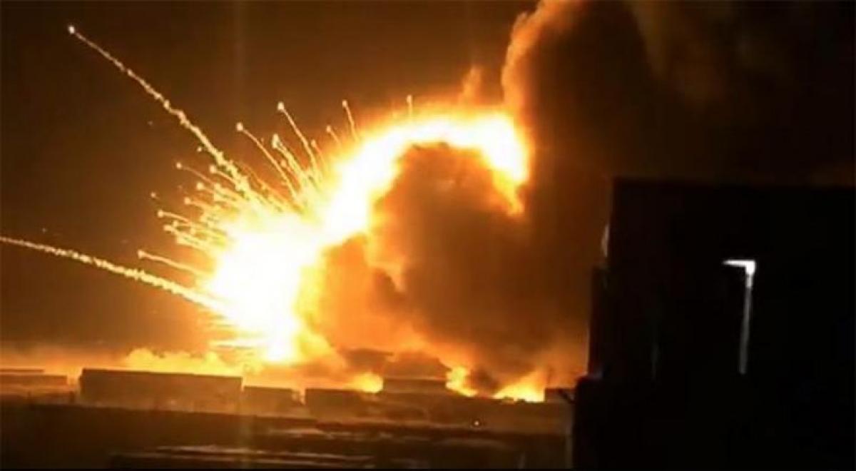 На Харьковщине мощный взрыв газа на газоперерабатывающей станции – есть погибшие и множество пострадавших