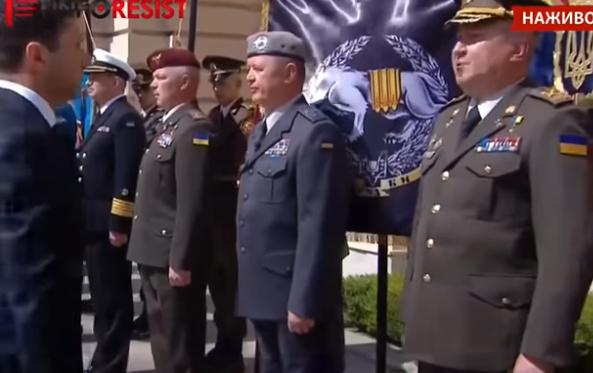 Зеленский, Грицак, Лунев, СБУ, инаугурация, видео, отдать честь