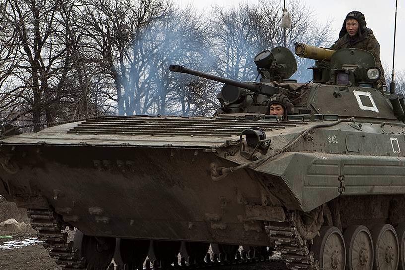 """В Бурятии стала """"ударной"""" 5-я бригада ВС РФ, бравшая штурмом Дебальцево"""