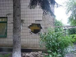 Как выглядит поселок «Октябрьский» в Донецке после обстрела