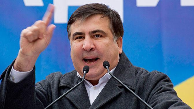 """""""Мы пришли вынести козла конкретного"""", - Саакашвили с трибуны озвучил истинные цели митинга под Верховной Радой"""