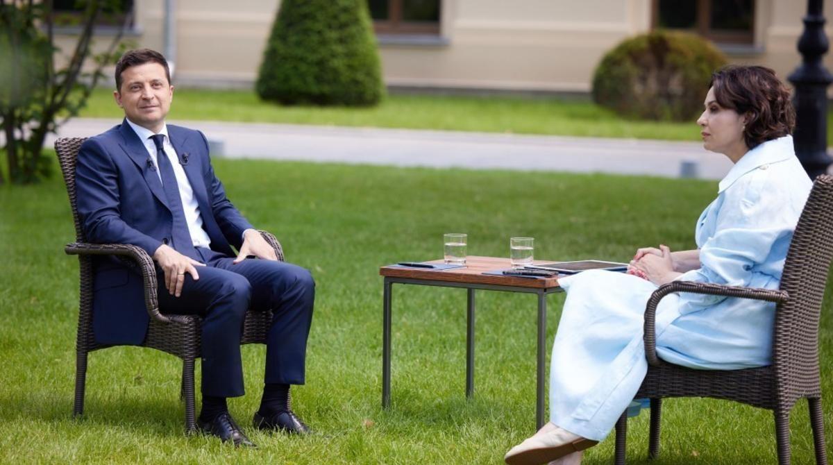 О Порошенко, Медведчуке и Байдене: главные темы, поднятые Зеленским в ходе интервью
