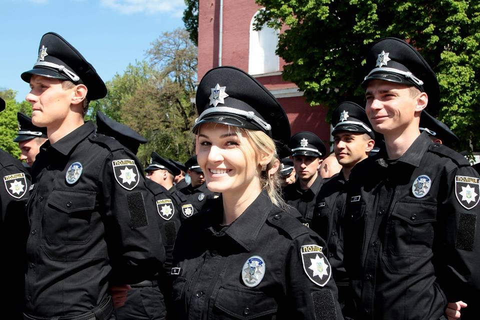 В Кировограде начала работу патрульная полиция: на службу заступили 238 новых полицейских