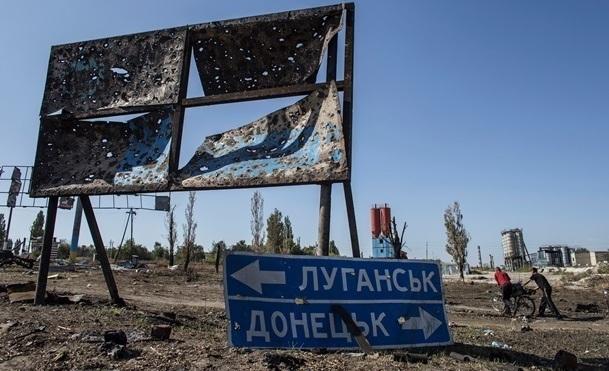 """Незаконные вооруженные бандформирования """"ДНР"""" стирают с лица земли поселок Сартану мощными ударами из 152-мм артиллерии"""