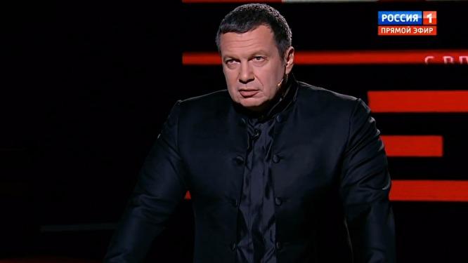 """Соловьев в испуге от последних побед Украины отметился абсурдной угрозой: """"Дернетесь - потеряете государство"""""""