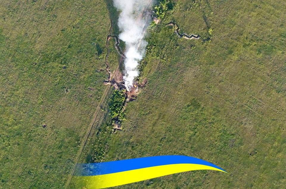 Ударили из БМП-1, ЗУ-23-2 и ПТУРа: группа К-2 жестко разобралась с передовой позицией террористов
